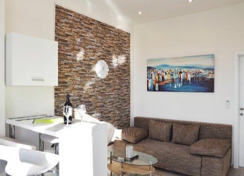 Luxuswohnungen Budin Rijeka Zentrum APP Robi (2+2)