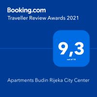 Vacation Apartments Budin Rijeka center