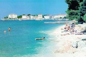 gradska plaža poreć