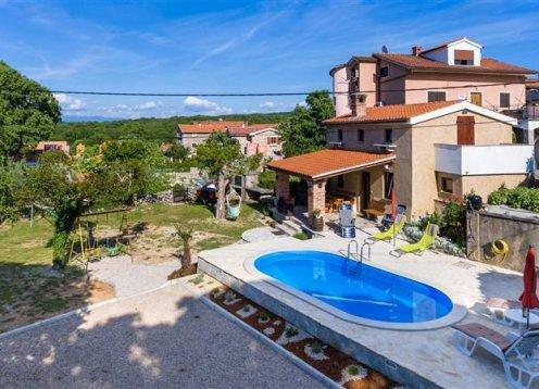 Kuća za odmor Poljica - Poljica - Malinska - otok Krk  (4+1) 60992-K1