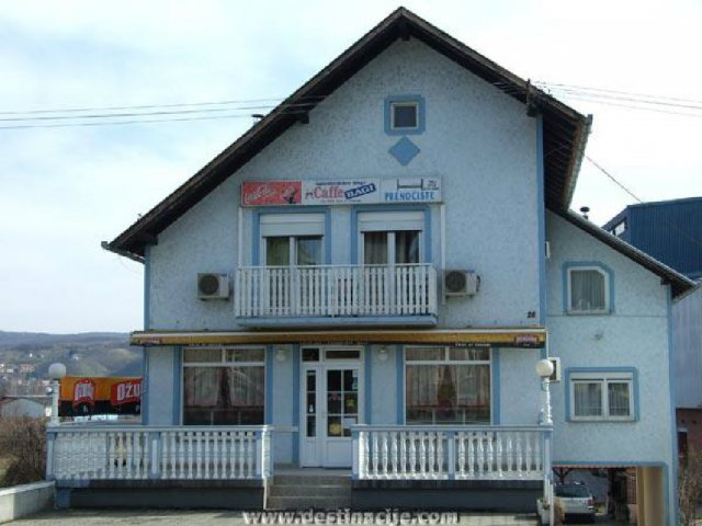 Caffe bar i prenoćište Bagi (Sobe)