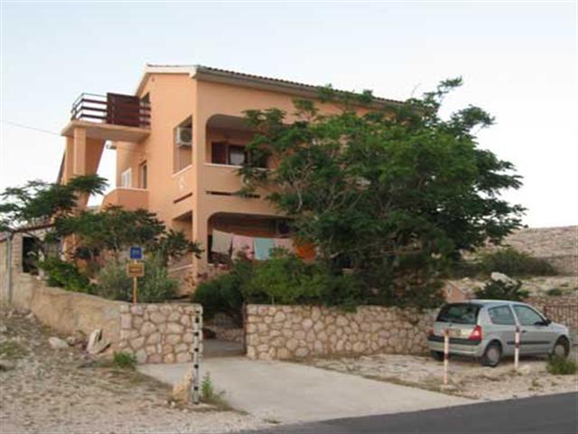 Apartmani Ines - Vidalići, Otok Pag A2 (4+0)