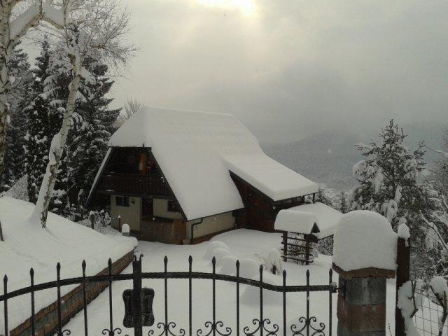 Vikendica kod skijaškog centra Golte (6+2) Mozirje