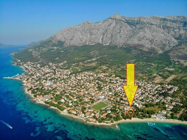 Apartman s pogledom na more, 10 metara od plaže Trstenica