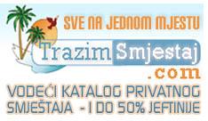 TrazimSmjestaj.com oglasavanje smjestaja, apartmani hrvatska�odmor u hrvatskoj, ljetovanje u hrvatskoj, privatni smjestaj